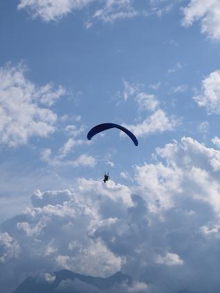 モーター・パラグライダー(2008年8月31日)その1