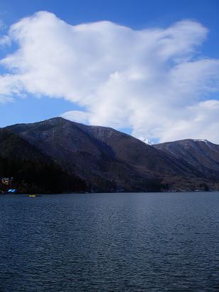 近所の湖(2009年2月7日)