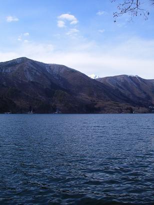 近所の湖(2009年3月8日)