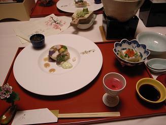 望水の夕食