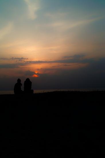 夕日を望む_SDIM4532