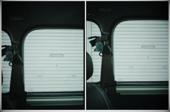 車窓とダリ