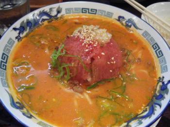 紅トマト担々麺