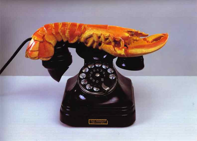 Salvador Daliacute;. Lobster Telephone.