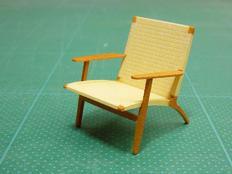 椅子塗装済み