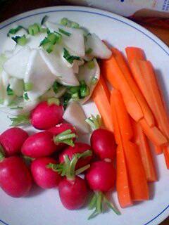 新鮮な野菜たち♪