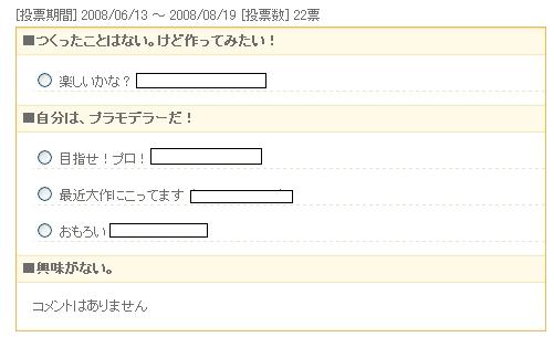変換 ~ 投票結果【コメント