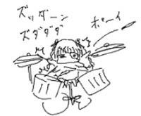 ドラムソロ・・・あ・・・