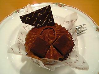 不○家のチョコケーキ☆