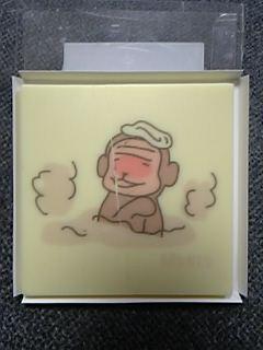 温泉サル~♪