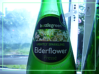 ボトルグリーン エルダーフラワー ライトスパークリング