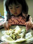 手作り餃子4