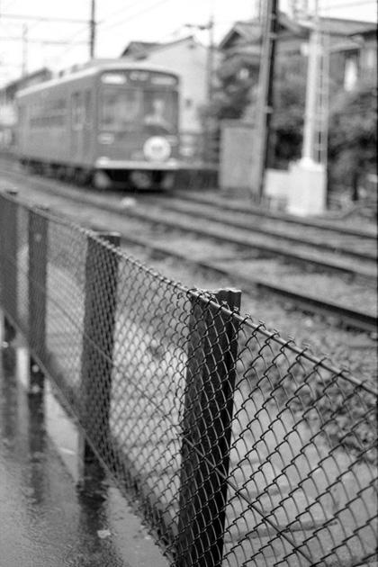 北野線沿線にて/雨
