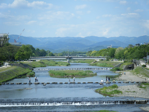 今日の鴨川