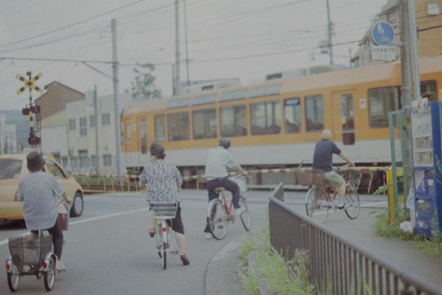 踏切/叡電