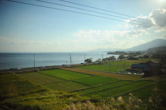 車窓風景/湖西線
