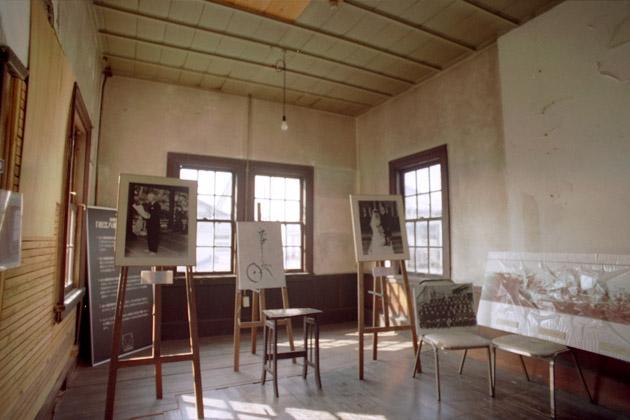 旧八幡郵便局2階