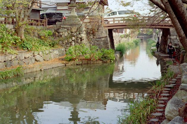水郷風景/近江八幡