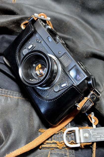 ライカM4ブラッククローム+ジュピター12 35mmF2.8