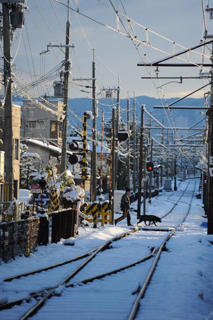 雪の北野線