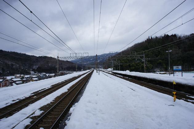 雪景色/近江塩津