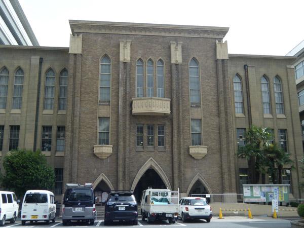 府立医大旧図書館