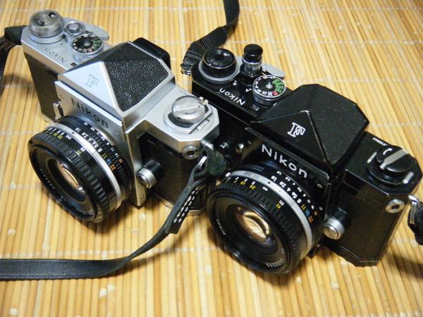 2台のニコンFと2本のAiニッコール50mmF1.8S