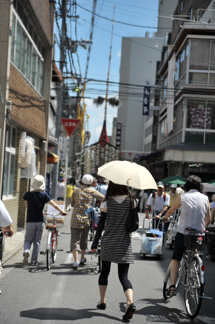 人波/祇園祭