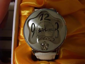 らき☆すた 腕時計 白2