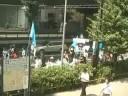 日本初 南モンゴルデモ行進