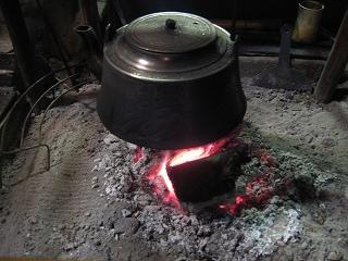 いちようの囲炉裏
