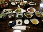 高砂屋本館の夕食