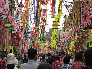 合羽橋本通七夕祭り