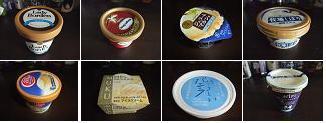 各社アイスクリーム