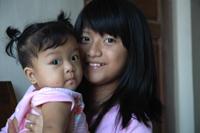 8ヶ月の妹とJPG