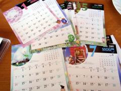 カワイイカレンダーです(^^)