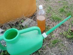 米のとぎ汁発酵母液肥