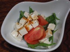 豆腐とのサラダ