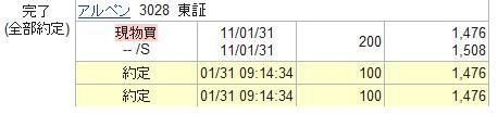 3028:アルペン購入_20110131