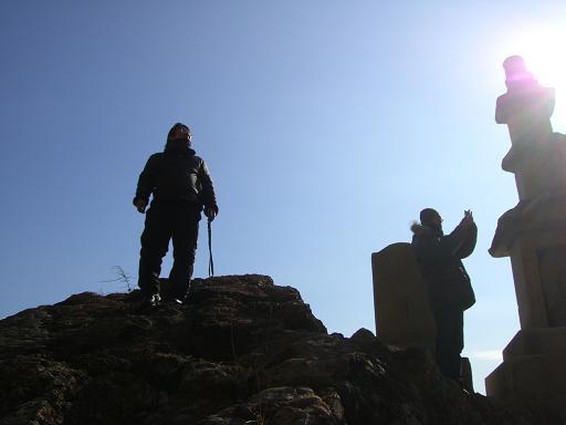 13:25登頂