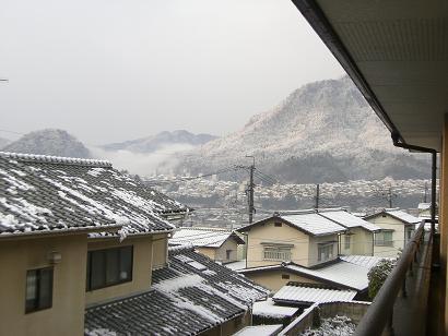7:54雪景色