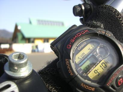 9:04温井ダム気温