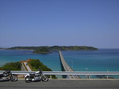 10:00角島大橋到着