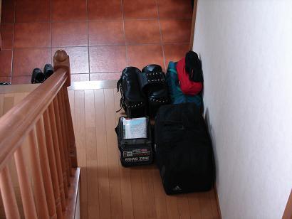 2009.5.3荷物準備
