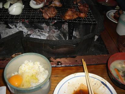 19:49地鶏焼き定食