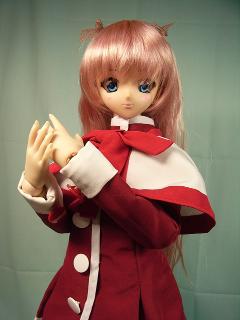 ことりたん、赤い制服仕様