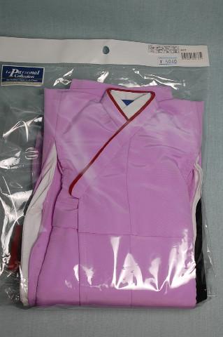 紫和服です