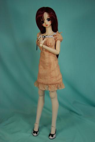スプリングピーチドレス