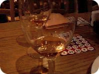 ドンペリ&ビンゴ用カード。