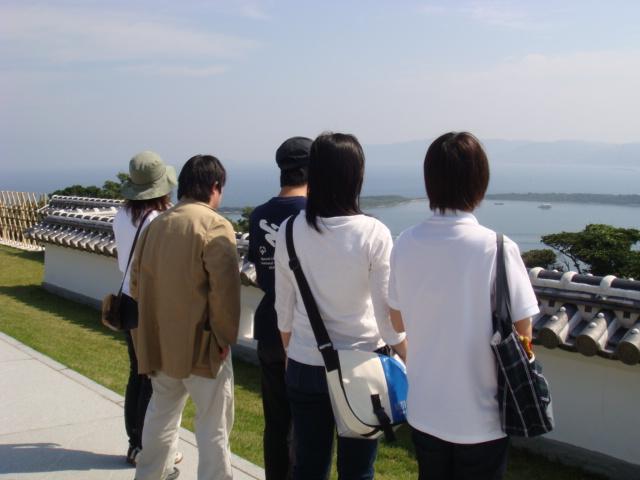 富岡城にて、偉人を想い・・・・。